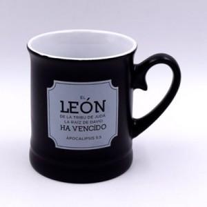 Taza Valentía León (Apocalipsis 5:5)