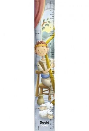 Regla en 3D David (bilingüe)