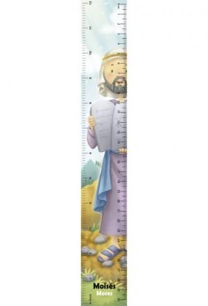 Regla en 3D Moisés (bilingüe)