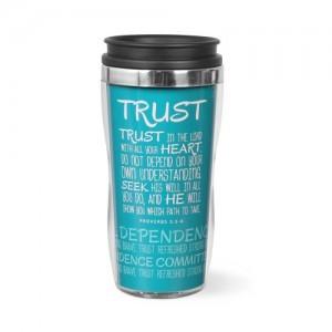 Botella térmica Trust. Acrílico/acero inoxidable. Azul turquesa