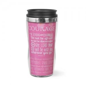 Botella térmica Courage. Acrílico/acero inoxidable. Rosa