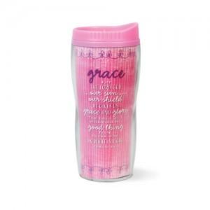 Botella térmica Grace. Acrílico/plástico. Rosa