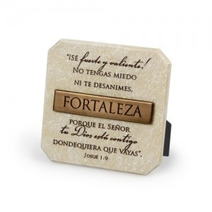 Placa de bronce Fortaleza