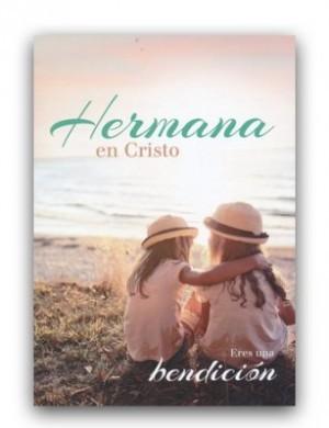 Tarjeta - Hermana en Cristo