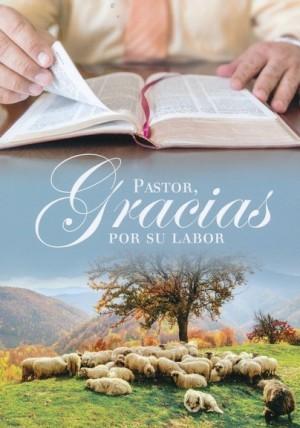 Tarjeta - Pastor, gracias