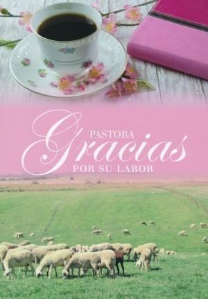 Tarjeta - Pastora, gracias
