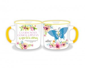 Taza Bugs and Blessings. 4 modelos