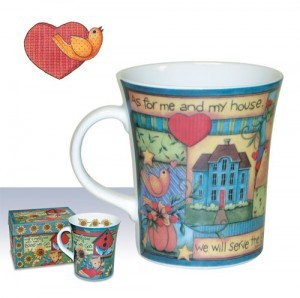 Taza As for me and my house