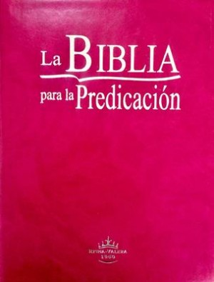 Biblia para la predicación. Imitación piel. Violeta - RVR60