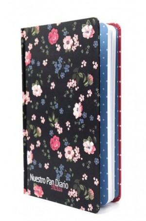 Cuaderno de notas. Tapa dura. Flores
