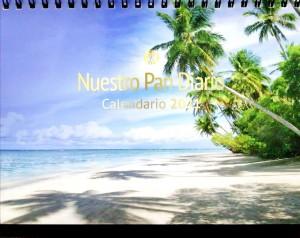 Calendario escritorio 2021