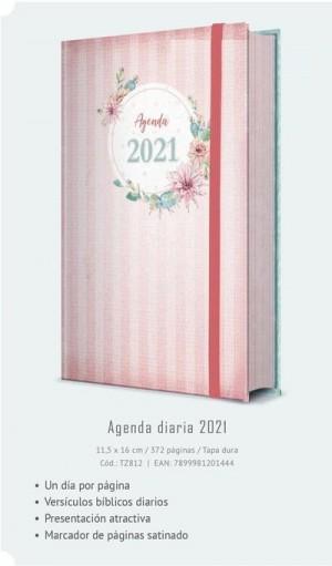 Agenda femenina 2021. Pequeña. Tapa dura