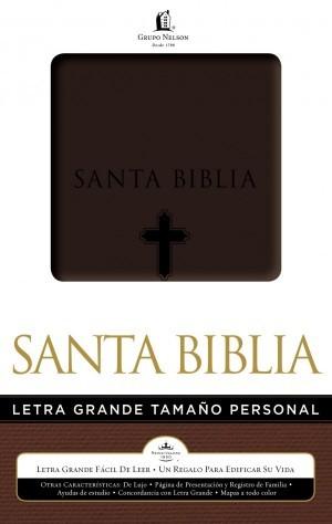 Biblia letra grande. Manual. 2 tonos. Marrón - RVR60