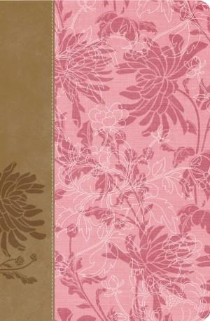 Biblia de estudio para la mujer. 2 tonos. Rosa/marrón - RVR60