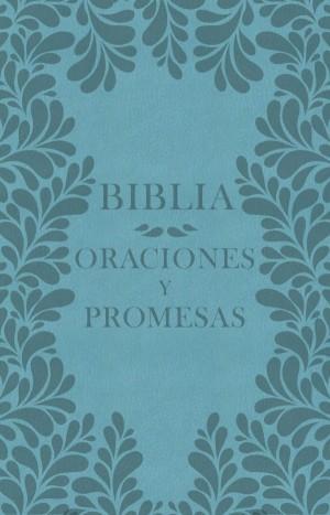 Biblia oraciones y promesas. 2 tonos. Turquesa - NVI