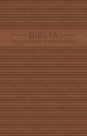 Biblia oraciones y promesas. 2 tonos. Marrón - NVI