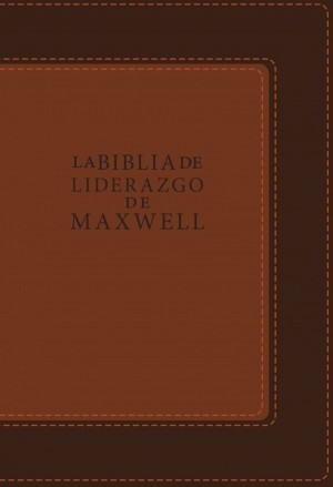 Biblia de liderazgo de Maxwell. 2 tonos. Marrón - RVR60