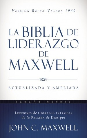 Biblia de liderazgo de Maxwell. Manual. Tapa dura - RVR60