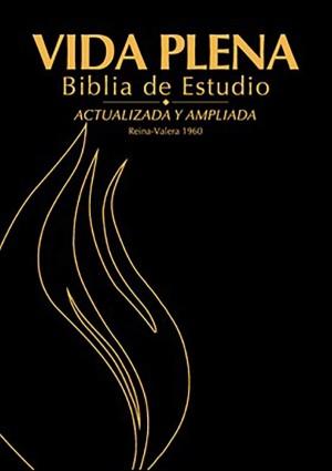Biblia de estudio vida plena. Piel especial. Negro - RVR60