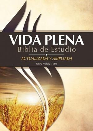Biblia de estudio vida plena. Tapa dura - RVR60