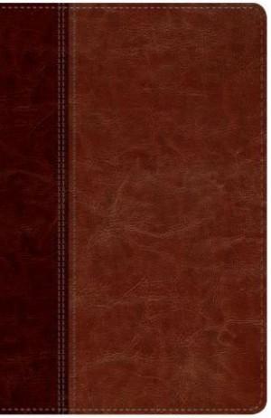 Biblia edición clásica. 2 tonos. Café claro/café - NTV