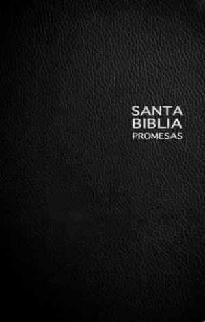 Biblia de promesas. Edición de regalo. Imitación piel. Negro - NTV
