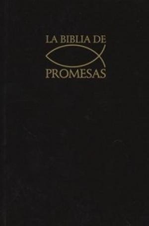Biblia de promesas. Edición económica. Rústica. Negro - RVR60