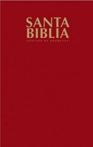 Biblia de promesas. Edición económica. Rústica. Rojizo - RVR60