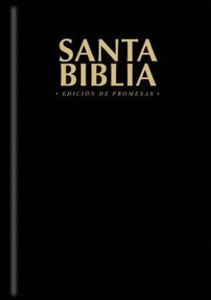 Biblia de promesas. Tapa dura. Negro - RVR60