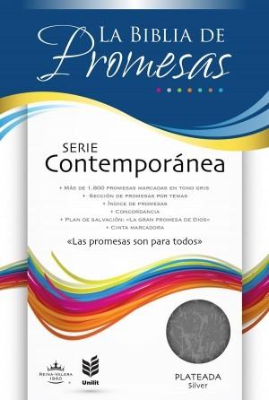 Biblia de promesas. Serie contemporánea. Plateado - RVR60