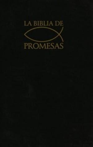Biblia de promesas. Edic. económica. Rústica. Negro. Índice - RVR60