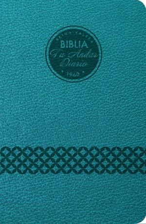 Biblia tu andar diario. 2 tonos. Azul - RVR60