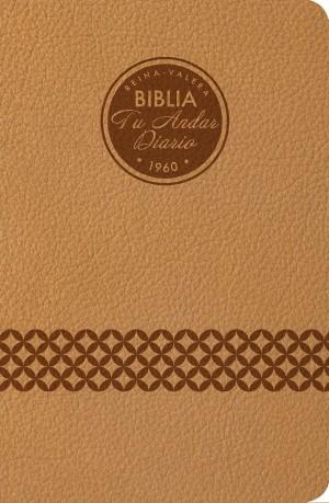 Biblia tu andar diario. 2 tonos. Almendra - RVR60