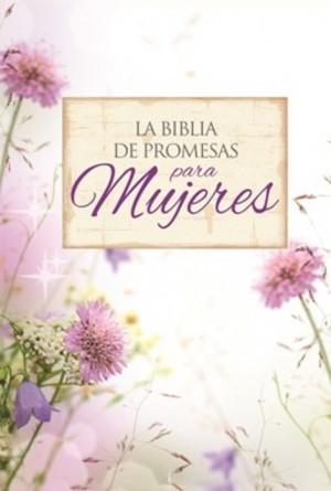 Biblia de promesas. Compacta. 2 tonos. Floral - RVR60