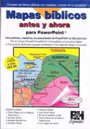 Mapas Bíblicos - DVD Powerpoint