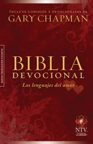 Biblia devocional los lenguajes del amor. Tapa dura - NTV
