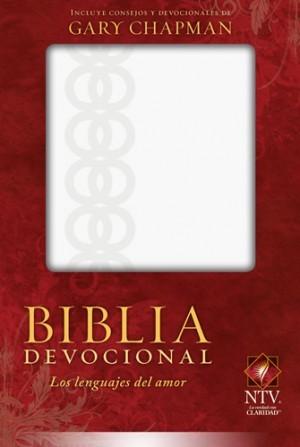 Biblia devocional los lenguajes del amor. 2 tonos. Blanco - NTV