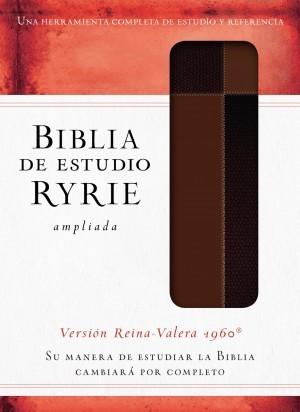 Biblia de estudio Ryrie ampliada. 2 tonos. Marrón - RVR60