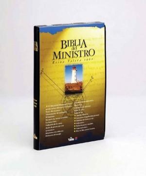 Biblia del ministro. Imitación piel. Negro - RVR60
