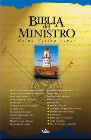 Biblia del ministro. Imitación piel. Negro. Índice - RVR60