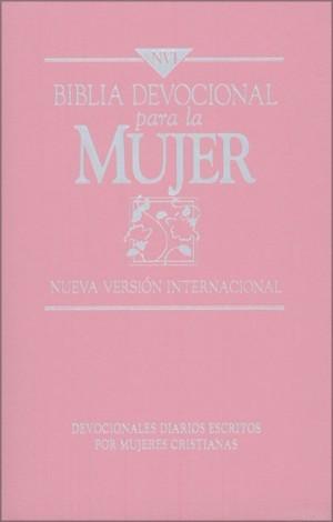 Biblia devocional para la mujer. Imitación piel. Rosa - NVI