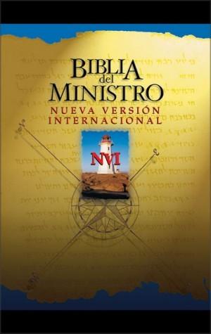 Biblia del ministro. Imitación piel. Negro. Índice - NVI