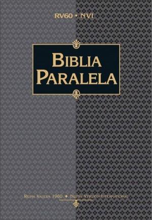 Biblia paralela. Imitación piel. Negro. Índice - RVR60/NVI
