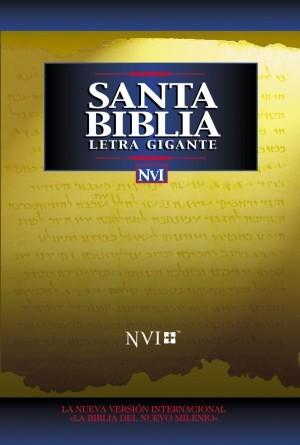 Biblia letra gigante. Tapa dura - NVI