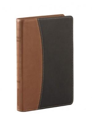 Biblia ultrafina. Compacta. 2 tonos. Marrón - NVI