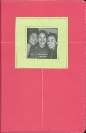 Biblia juvenil G3. 2 tonos. Rosa/verde - NVI
