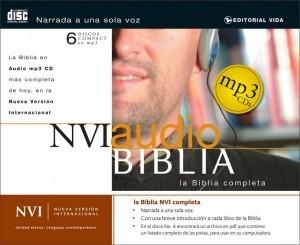 Biblia completa en audio - NVI - CD MP3