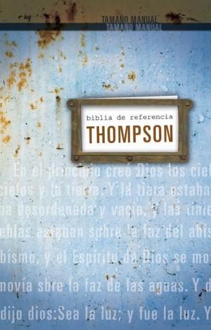 Biblia Thompson. Tamaño manual. Tapa dura - RVR60