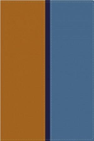 Biblia paralela. 2 tonos. Marrón/azul - RVR60/NVI