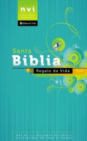 Biblia regalo de vida. Rústica - NVI